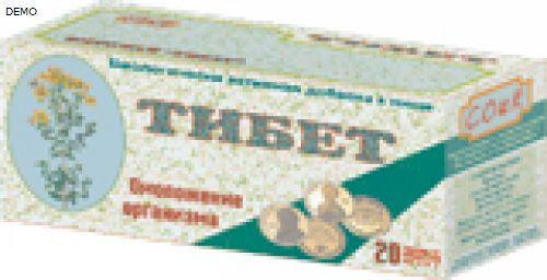 Тибетский сбор для похудения
